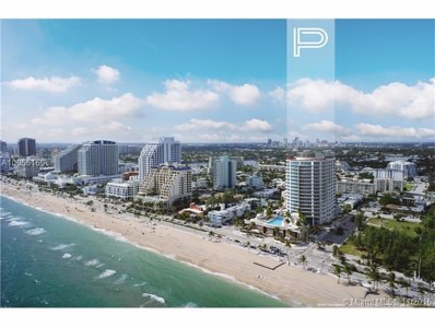 701 N Fort Lauderdale Beach UNIT 1704, Fort Lauderdale, FL 33304 - MLS#: A10055169