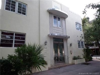260 Euclid Av UNIT 25, Miami Beach, FL 33139 - MLS#: A10076395