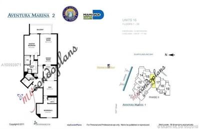 3330 NE 190 St UNIT 1116, Aventura, FL 33180 - MLS#: A10093971