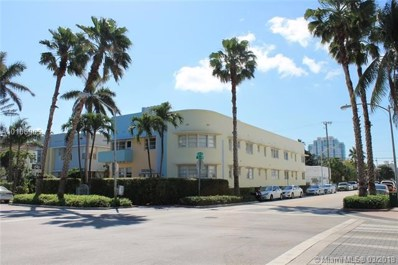 760 Euclid Ave UNIT 102, Miami Beach, FL 33139 - MLS#: A10106905