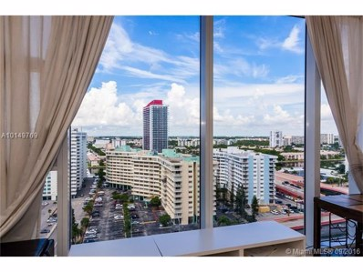 1830 S Ocean Dr UNIT 1707, Hallandale, FL 33009 - MLS#: A10149769