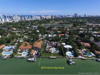 6070 N Bay Rd, Miami Beach, FL 33140 - MLS#: A10154967