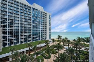 6799 Collins Ave UNIT 501-S, Miami Beach, FL 33141 - MLS#: A10160078