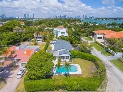 110 N Hibiscus Drive, Miami Beach, FL 33139 - MLS#: A10163166