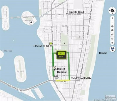 1242 Alton Rd UNIT 203, Miami Beach, FL 33139 - MLS#: A10163586