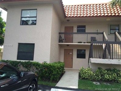 15718 E Waterside Circle UNIT 101, Sunrise, FL 33326 - MLS#: A10178359