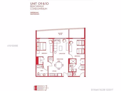 2602 E Hallandale Beach Blvd UNIT R2909, Hallandale, FL 33009 - MLS#: A10193495