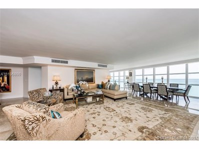 6423 Collins Ave UNIT 1804, Miami Beach, FL 33141 - MLS#: A10196800