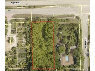 0 Griffin, Southwest Ranches, FL 33326 - MLS#: A10196857