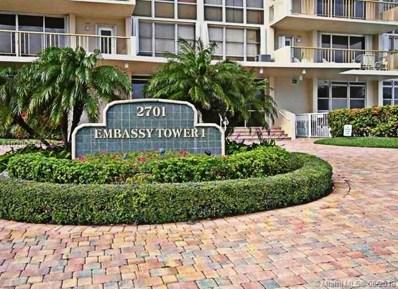 2701 N Ocean Blvd UNIT 12D, Fort Lauderdale, FL 33308 - MLS#: A10200654