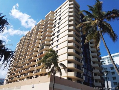 2401 Collins Ave UNIT 1709, Miami Beach, FL 33140 - MLS#: A10202509