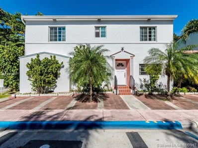 843 Espanola Way, Miami Beach, FL 33139 - #: A10205317