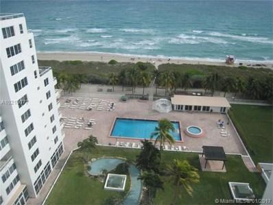 5005 Collins Ave UNIT 1412, Miami Beach, FL 33140 - MLS#: A10210077