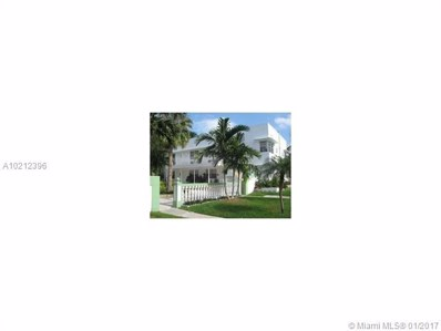 1971 Bay Dr UNIT 11, Miami Beach, FL 33141 - MLS#: A10212396