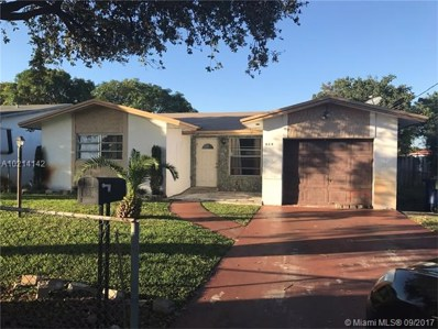 628 NW 9th Ct, Hallandale, FL 33009 - MLS#: A10214142