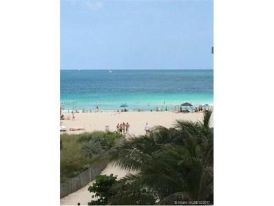 325 Ocean Dr UNIT 408, Miami Beach, FL 33139 - MLS#: A10221617