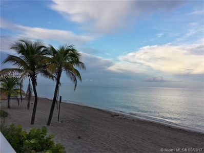 2030 S Ocean Dr UNIT 1210, Hallandale, FL 33009 - MLS#: A10224039