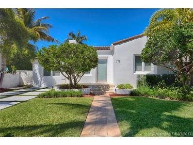 775 W 50 St, Miami Beach, FL 33140 - MLS#: A10234913