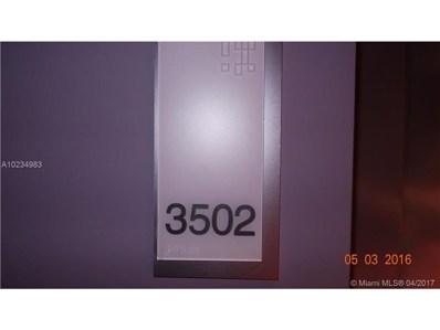 1300 Brickell Bay Dr UNIT 3502, Miami, FL 33131 - MLS#: A10234983