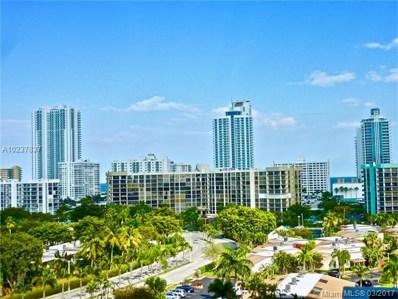 2500 Parkview Dr UNIT 1007, Hallandale, FL 33009 - MLS#: A10237837