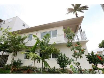 1601 Meridian UNIT 202, Miami Beach, FL 33139 - MLS#: A10239910
