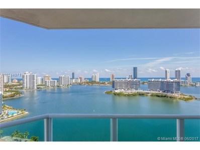 3301 NE 183rd St UNIT 2501, Aventura, FL 33160 - MLS#: A10244971