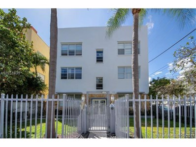 1358 Pennsylvania Ave UNIT 106, Miami Beach, FL 33139 - MLS#: A10251838