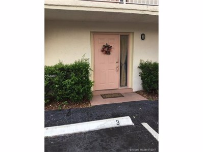 3750 NW 115th Way UNIT 3-1, Coral Springs, FL 33065 - MLS#: A10253897