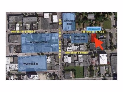 136 NW 26th St, Miami, FL 33127 - MLS#: A10254663