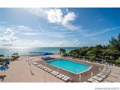 3180 S Ocean Dr UNIT 212, Hallandale, FL 33009 - MLS#: A10256981