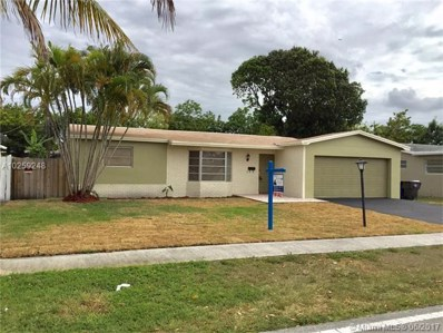 3164 NW 43rd St, Lauderdale Lakes, FL 33309 - MLS#: A10259248