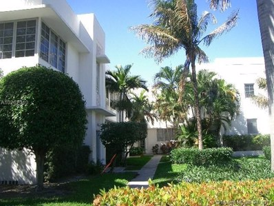 1052 Jefferson Ave UNIT 6, Miami Beach, FL 33139 - MLS#: A10262010