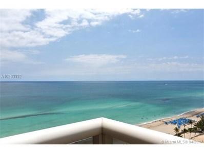 18911 Collins Ave UNIT 1903, Sunny Isles Beach, FL 33160 - MLS#: A10263332