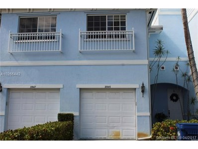 3545 NW 14th Ct UNIT 3545, Lauderhill, FL 33311 - MLS#: A10266442