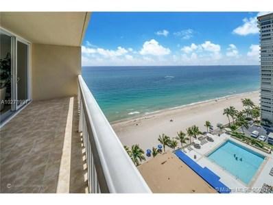 4300 N Ocean Blvd UNIT 15M, Fort Lauderdale, FL 33308 - MLS#: A10271997