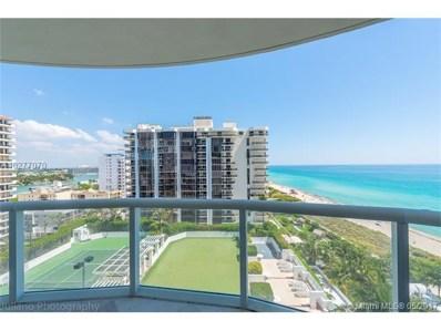 6365 Collins Ave UNIT 1211, Miami Beach, FL 33141 - MLS#: A10277070