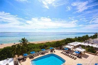 5555 Collins Av UNIT 7G, Miami Beach, FL 33140 - MLS#: A10277576