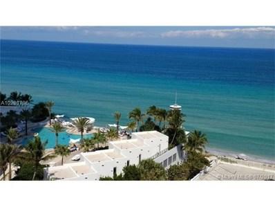 3505 S Ocean Dr UNIT 1107, Hollywood, FL 33019 - MLS#: A10281796