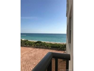 6039 Collins Ave UNIT 615, Miami Beach, FL 33140 - MLS#: A10282600