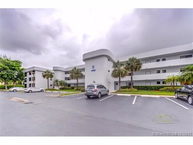 1460 Sheridan St UNIT 3D, Hollywood, FL 33020 - MLS#: A10289568