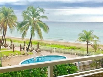1950 S Ocean Dr UNIT 2M, Hallandale, FL 33009 - MLS#: A10290972