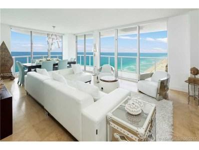 6365 Collins Ave UNIT 3003, Miami Beach, FL 33141 - MLS#: A10292471