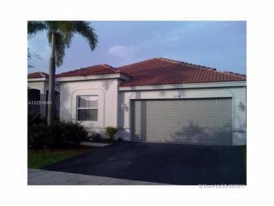 1258 Chinaberry Dr, Weston, FL 33327 - MLS#: A10294805