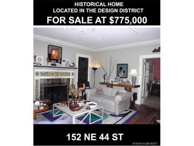 152 NE 44 St, Miami, FL 33137 - MLS#: A10297799