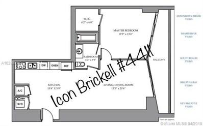 485 Brickell Ave UNIT 4411, Miami, FL 33131 - MLS#: A10298897