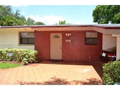 401 NW 46th Ave, Plantation, FL 33317 - MLS#: A10304591