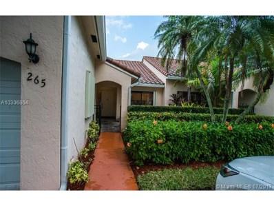 21232 Harbor Way UNIT 265-26, Aventura, FL 33180 - MLS#: A10306864