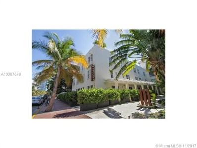 100 Collins Ave UNIT 217, Miami Beach, FL 33139 - MLS#: A10307678
