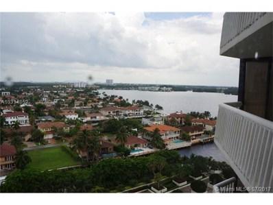1000 W Island Blvd UNIT 1504, Aventura, FL 33160 - MLS#: A10314852
