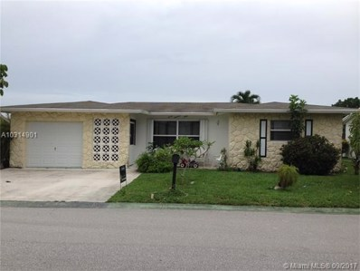 760 NW 75th Ave, Margate, FL 33063 - MLS#: A10314901
